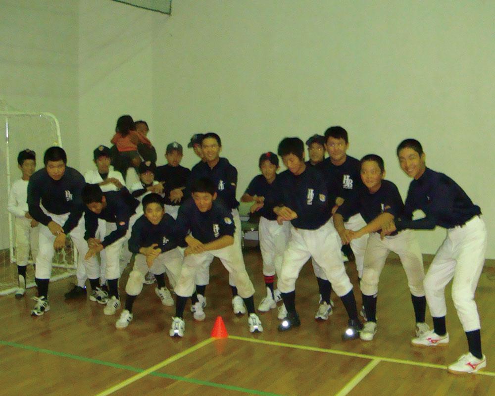 体育館練習②