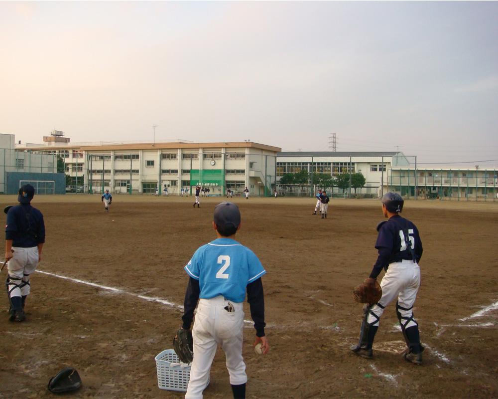 日野高校練習①