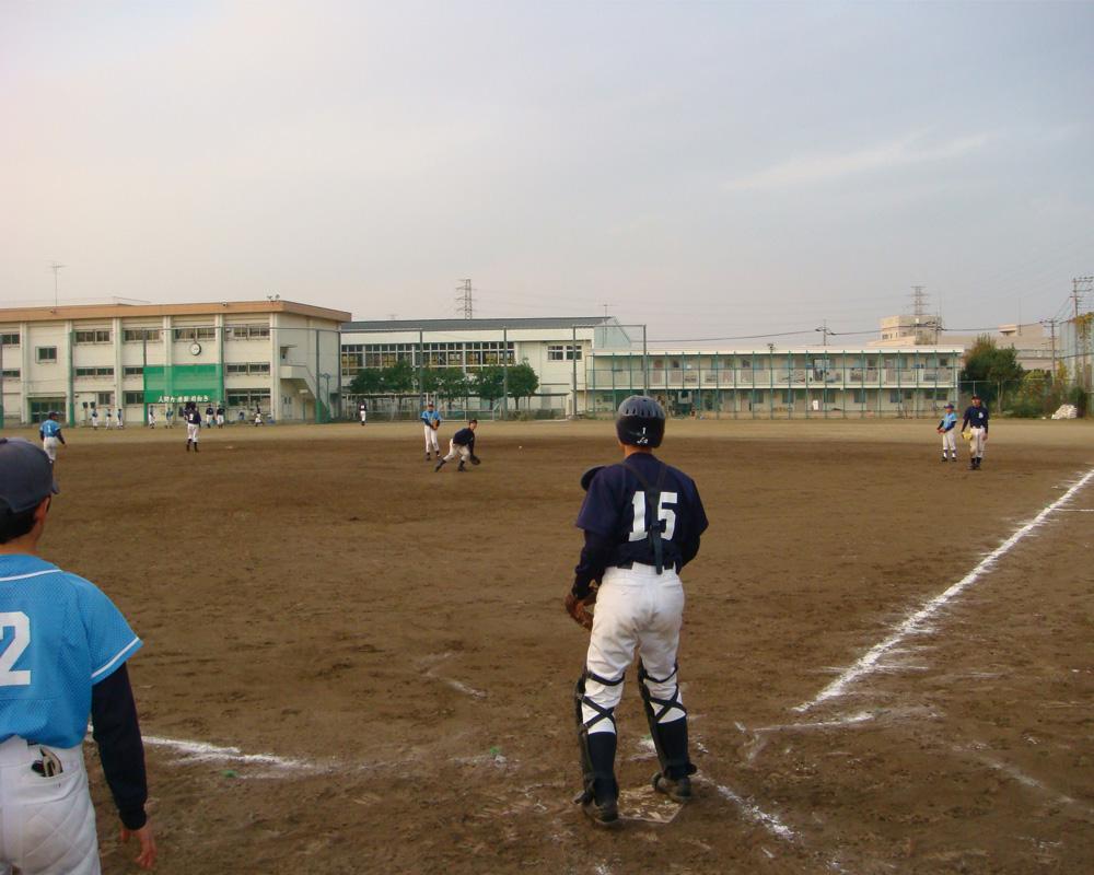 日野高校練習②