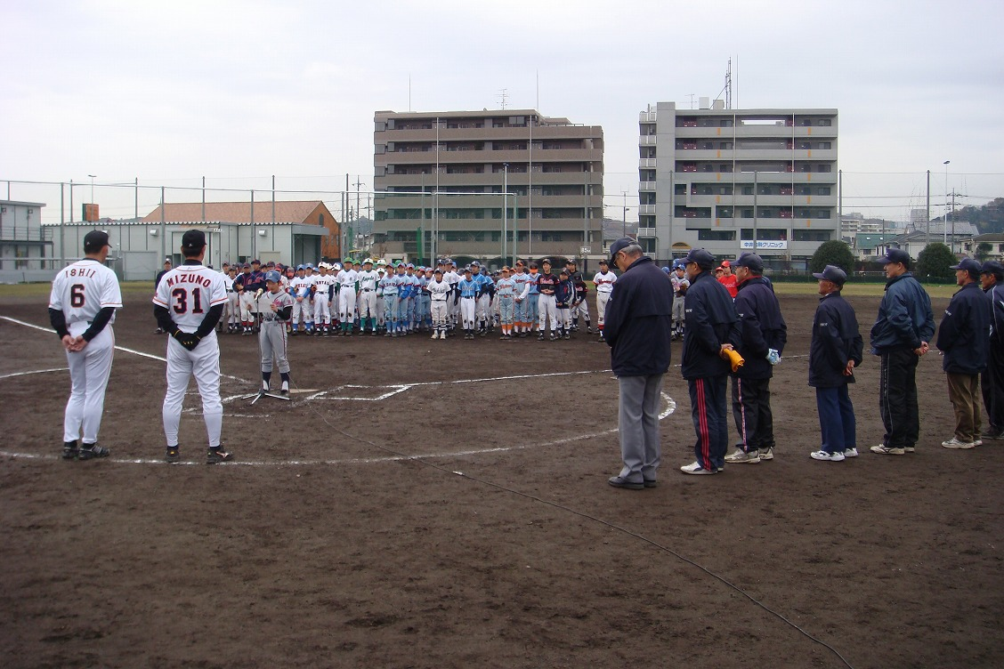 091205 野球教室②